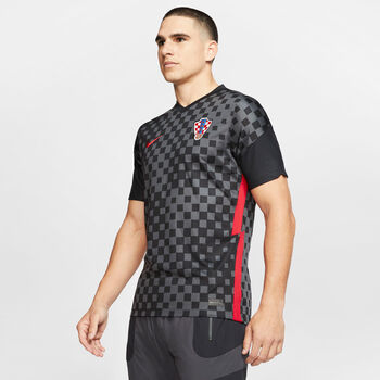 Nike Kroatien Away Fussballtrikot Herren Grau