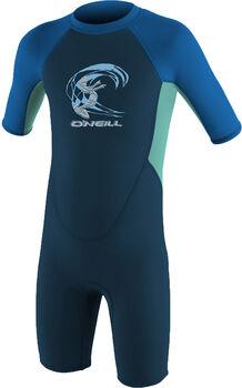 O'Neill Toddler Reactor-2 2mm Back Zip S/S Spring - Neoprenanzug Jungs Blau