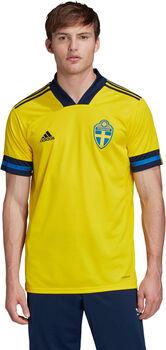 adidas Schweden Home Fussballtrikot Herren Gelb