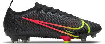 Nike Mercurial Vapor 14 Elite FG Fussballschuh Schwarz