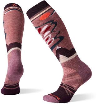 PhD Ski Medium Pattern Socken