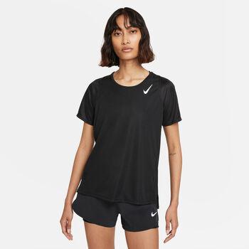 Nike Dri-FIT Laufshirt Damen Schwarz