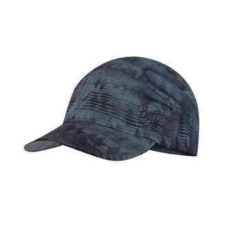 Buff Tzom Stone Blue Cap Blau