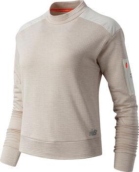 New Balance Heat Grid Pullover Damen Beige