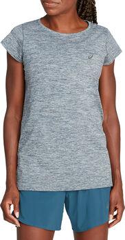 ASICS RACE SEAMLESS Shirt running à manches courtes Femmes Gris