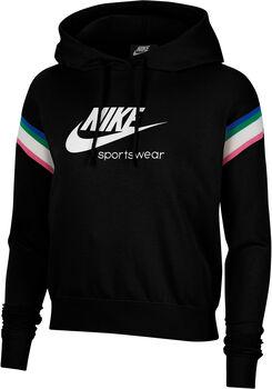 Nike Sportswear Heritage Hoody Damen Schwarz