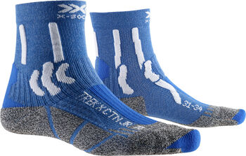 X-Socks Trek X Cotton Wandersocken Blau