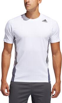 adidas FreeLift 3-Streifen T-Shirt Herren Weiss