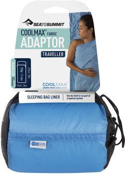 Sea to Summit Coolmax Adaptor doublure de sac de couchage Bleu