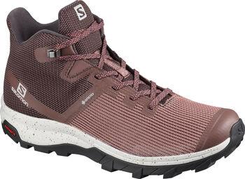Salomon OUTline PRISM MID GORE-TEX chaussure de randonnée Femmes Brun