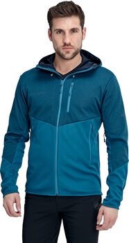 MAMMUT Ultimate VI SO Hooded Wanderjacke Herren Blau