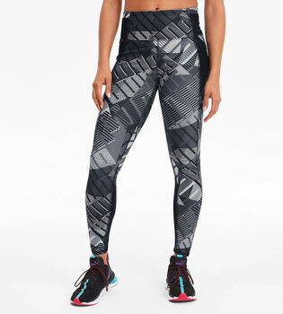 Puma Be Bold AOP 7/8 Tights Damen Schwarz