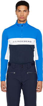 J.Lindeberg Kimball INTERSPORT T-Zip Langarm Herren Blau