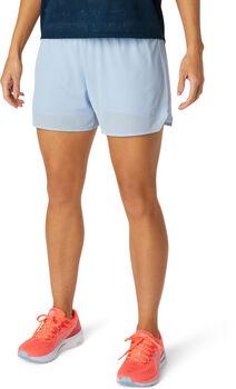 ASICS VENTILATE 2-N-1 3.5 IN Short Femmes Bleu