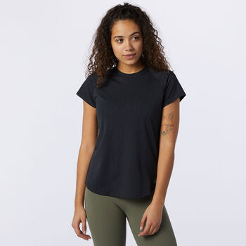 New Balance Q Speed Laufshirt Damen Schwarz