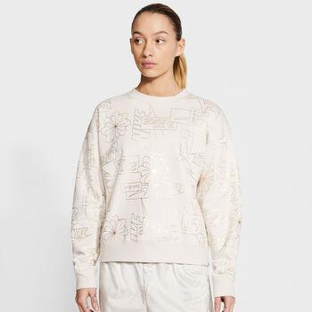 Nike Sportswear Icon Clash Sweatshirt Damen Weiss
