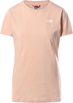 The North Face Simple Dome t-shirt Femmes Rose
