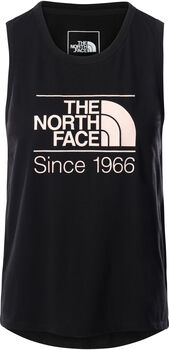 The North Face Foundation Graphic tanktop Femmes Noir