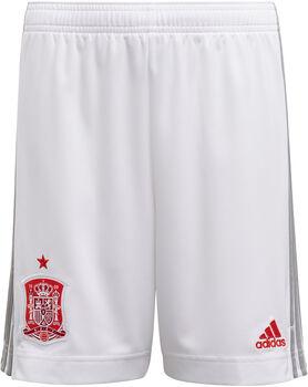 adidas Spanien Away Fussballshorts Weiss