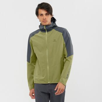 Salomon Outline veste hardshell Hommes Vert