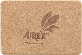 AIREX Yoga Eco Cork Block Braun
