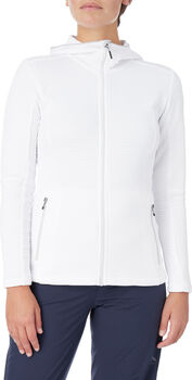 McKINLEY Aami Hooded Fleecejacke Damen Weiss
