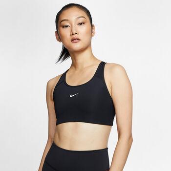 Nike Medium Support Swoosh Brassière de sport Femmes Noir