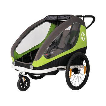 Hamax Traveller Remorque pour vélos Vert