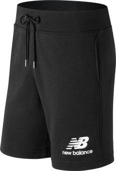 New Balance Essentials Stacked Logo Shorts Herren Schwarz