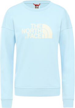 The North Face DREW PEAK CREW-EU Pullover Damen Blau