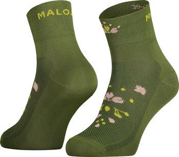 Maloja WeißmoosM. Chaussettes de longueur moyenne Vert