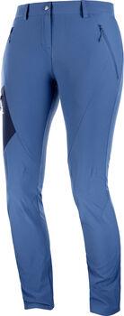 Salomon Wayfarer pantalon softshell Femmes Bleu
