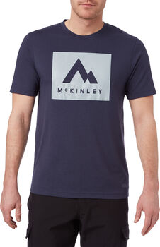 McKINLEY Krassa T-Shirt Herren Blau