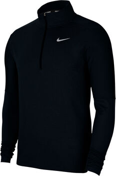 Nike Dri-FIT Element 1/2 Zip haut de running à manches longues Hommes Noir