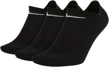 Nike Everyday Lightweight No-Show Socken Schwarz