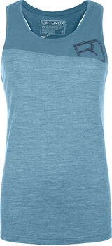 ORTOVOX 150 COOL LOGO T-Shirt Damen Blau