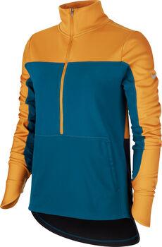 Nike Repel Top Laufshirt langarm Damen Orange