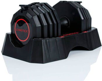 Gymstick Quick-lock Dumbbell Haltère 22,5 KG  Noir