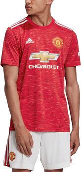 adidas Manchester United 20/21 Home Fussballtrikot Herren Rot
