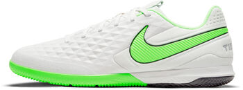Nike REACT LEGEND 8 PRO IC chaussure de football en salle Hommes Blanc