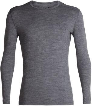 Icebreaker 200 Oasis chemise fonctionnelle à manches longues Hommes Gris