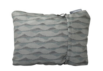 Therm-a-Rest Pillow Gray Mountains M Kopfkissen Grau
