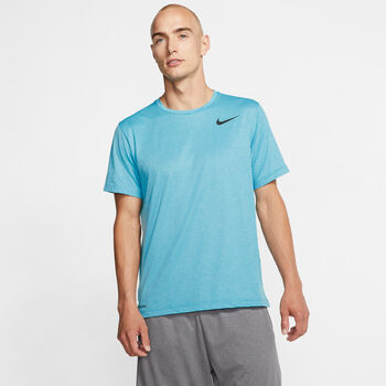 Nike T-shirt Pro Hommes Bleu