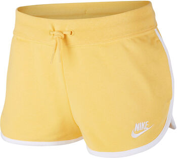 Nike Sportswear Heritage Trainingshose Damen Gelb