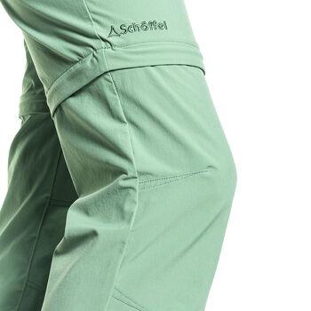 SCHÖFFEL Ascona Zip Off Pantalon de randonnée Femmes Vert