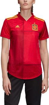 adidas Spanien Home Fussballtrikot Damen Rot
