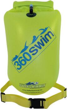 360swim SaferSwimmmer Boje und Trockentasche Grün