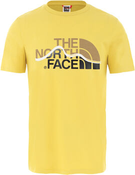 The North Face MOUNT LINE T-Shirt Herren Gelb
