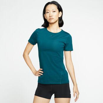 Nike PRO Mesh T-Shirt Damen Türkis