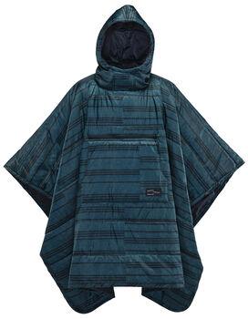 Therm-a-Rest Honcho Poncho Decke Blau